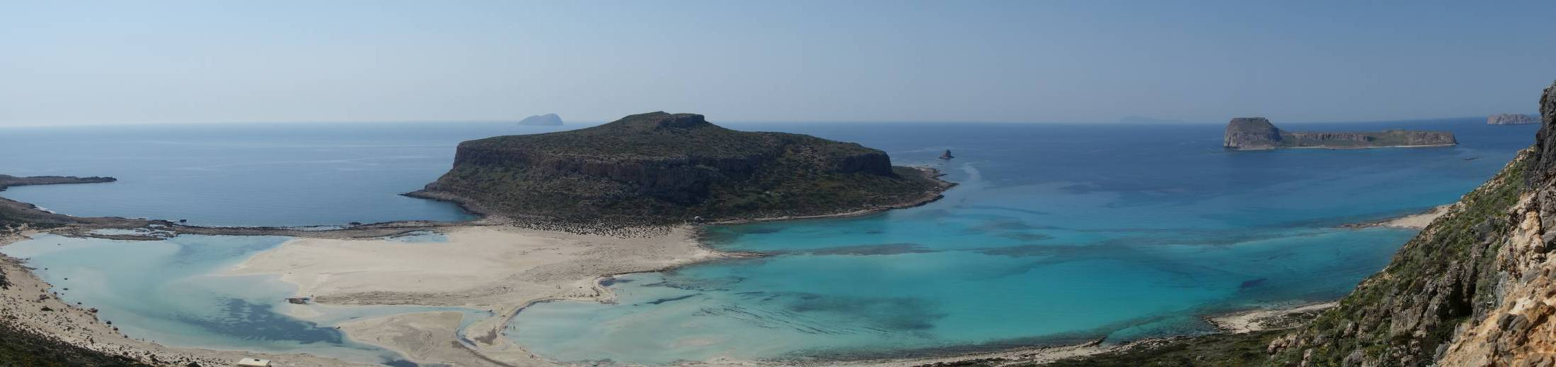 TBalos beach and lagoon