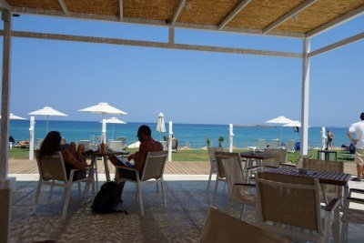 Aptera Beach Bar - 200m away
